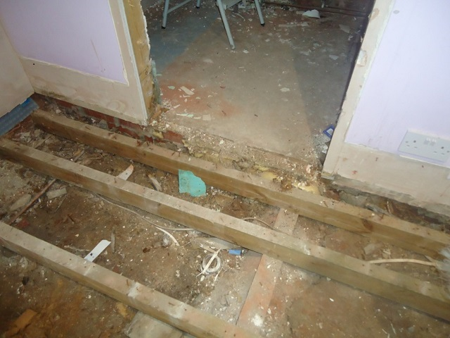 floorboard repairs - MCP - Commercial Building Consultants