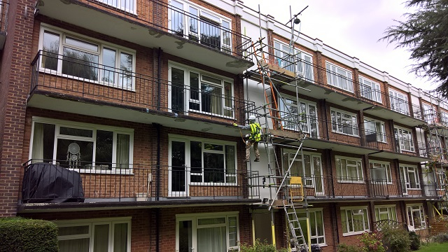 Concrete balcony repairs - MCP - Commercial Building Consultants